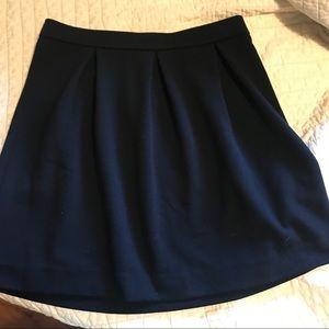 Madewell size 6 black skirt